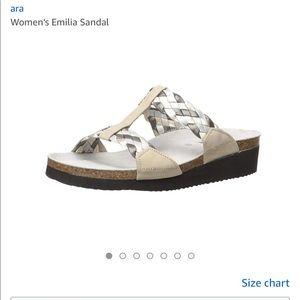 Ara Emilia Sandal Argentine Combo Size 9